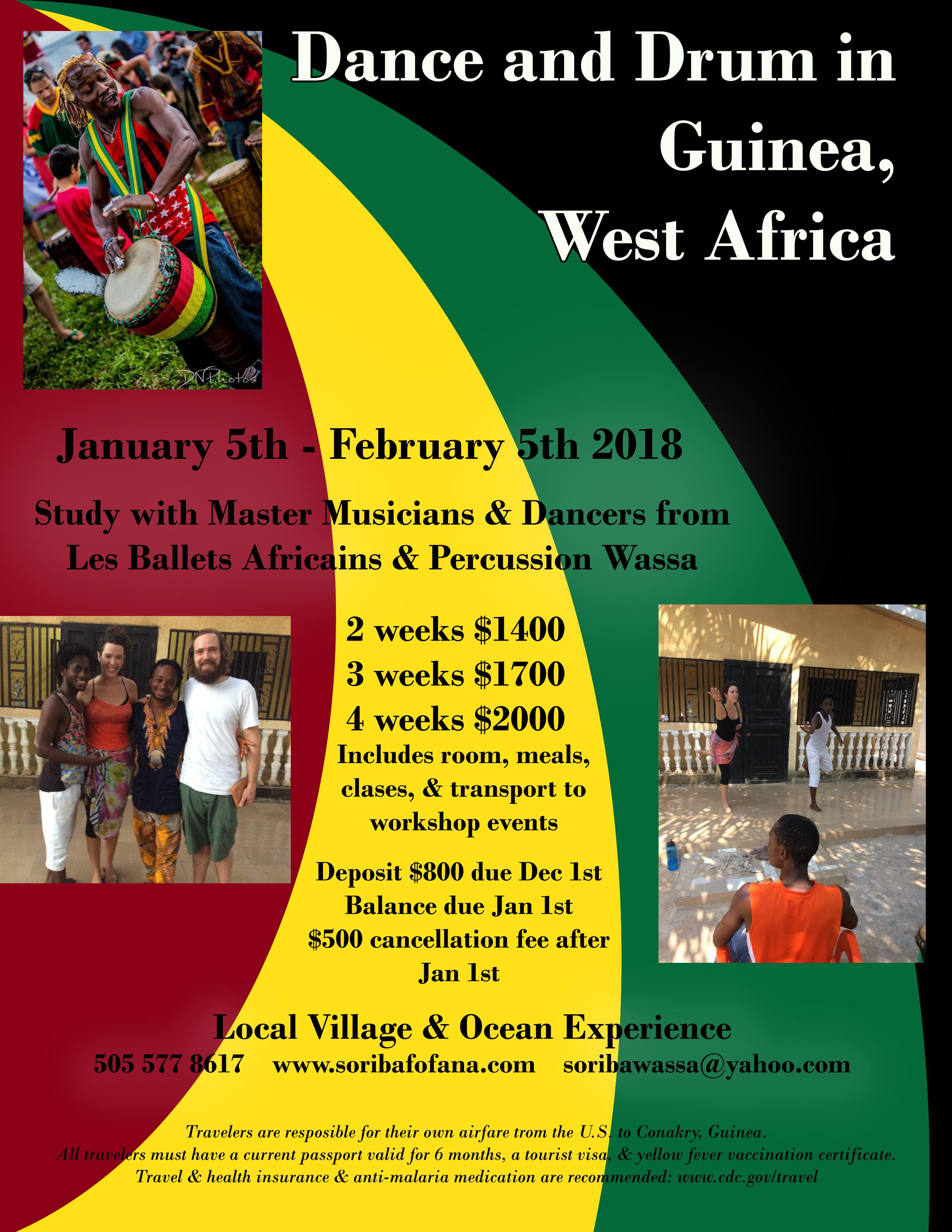 Guinea trip 2018